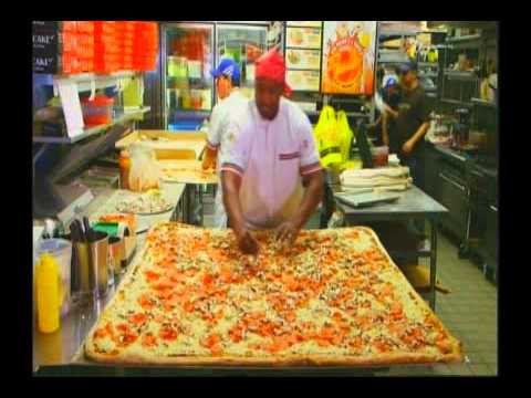 """For the Record: Largest Pizza Commercially Available (As Seen on """"Officially Amazing"""" Show)"""