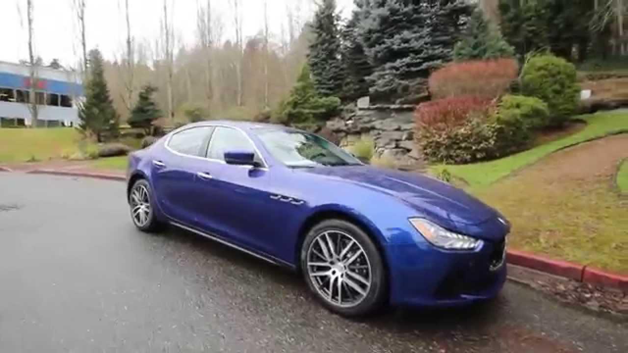 Maserati Ghibli S Q4 >> 2015 Maserati Ghibli S Q4 | Blu Emozione | F1138123 | Redmond | Seattle - YouTube