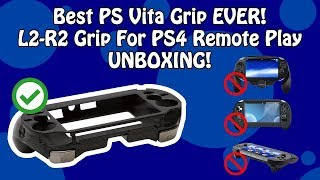 PS Vita L2/R2 Button Grip for PS4 Remote Play | Unboxing & Demonstration