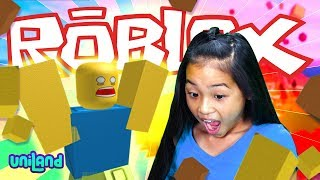 Let's Play ROBLOX! | Natural Disaster Survival Gameplay and Review | UniLand Kids