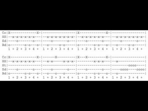 Basket Case - Green Day - Drum Tabs - Play Along - YouTube