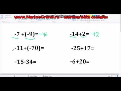 Как сложить модули чисел