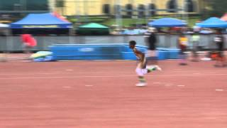 Zai's 1st Attempt at 3''6' AAU Nationals Open HJ