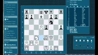 Bastiaan versus Chessmaster 10th edition (REVISIT): Maltese Falcon Attack (live and annotated)