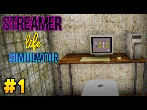MY FIRST EVER SETUP! | Streamer Life Simulator #1 |