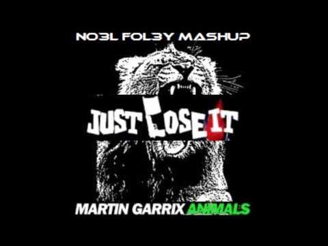 Martin Garrix vs Eminem -  Animals Just Lose It (NO3L FOL3Y Mashup)