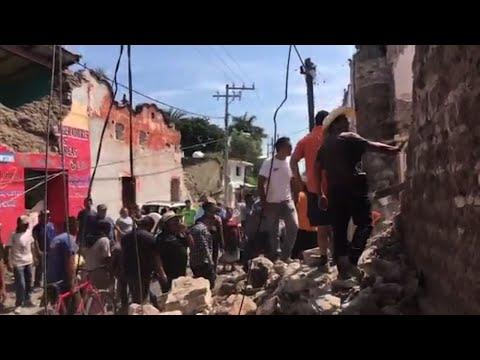 American in Mexico: Quake Was 'Crazy'