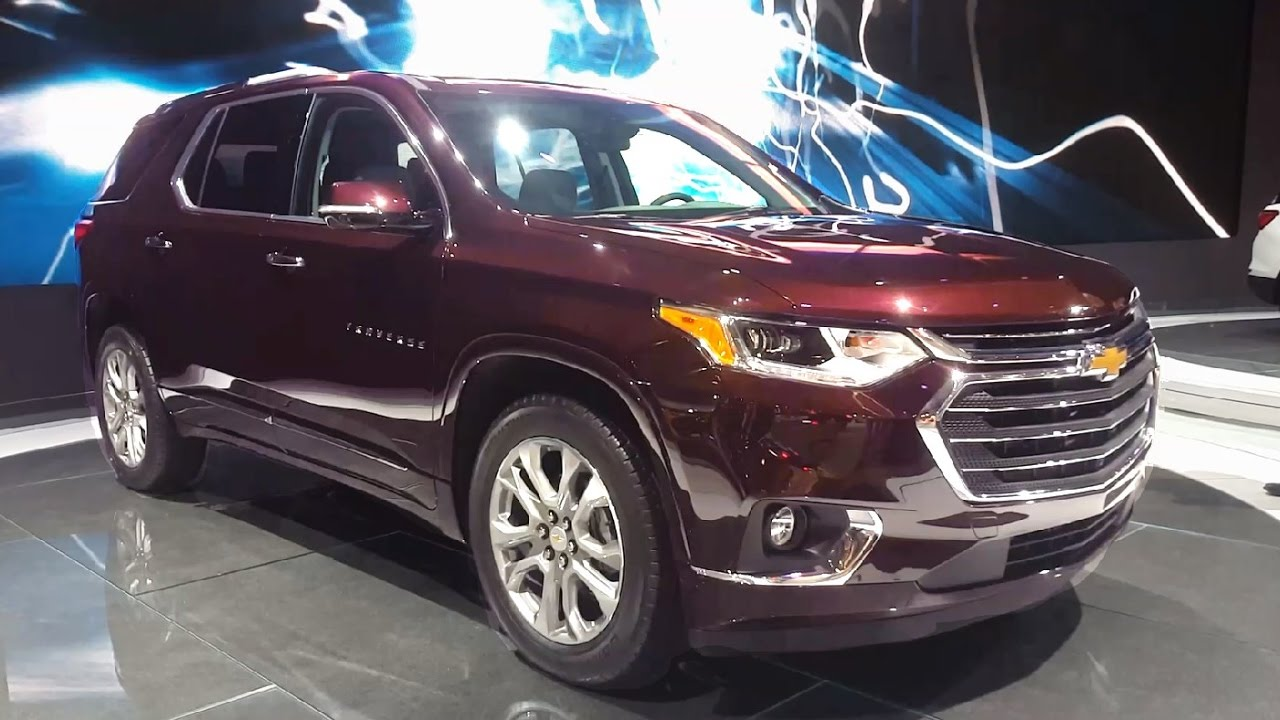 2018 Chevy Traverse Review >> 2018 Chevrolet Traverse Review - Walkaround, Features & Specifications - YouTube