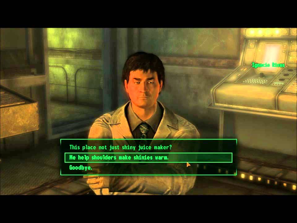 Fallout 3: Why maxing speech is always fun (Funny ...