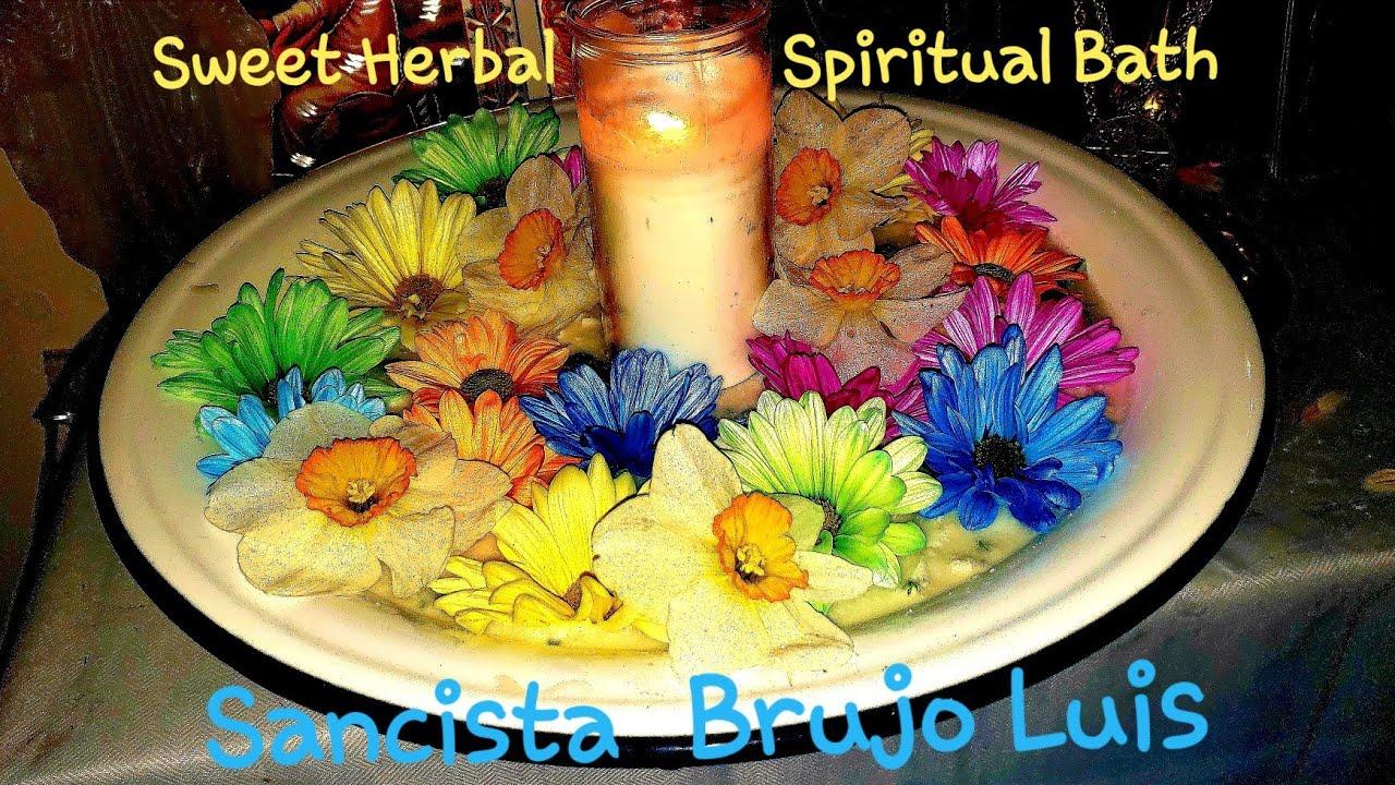 Sweet Herbal Spiritual Bath - Morkc