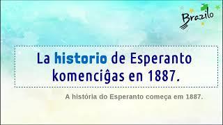 HISTORIO substantivo em Esperanto