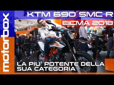 KTM  SMC R  a Eicma  | Ritorna la supermoto di media cilindrata
