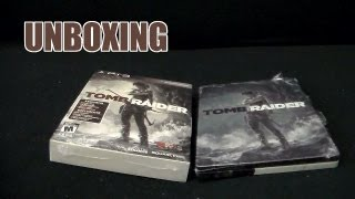UNBOXING - Tomb Raider (Mid-Tier) Collector