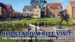 OLD STADIUM SITE: Former Home of Colchester United Football Club, Layer Road, Colchester (1907-2008)