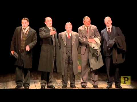 """Highlights from """"The Pitmen Painters"""" on Broadway"""