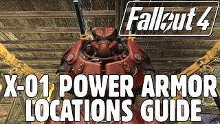 Fallout 4 - X-01 Power Armor Locations Guide