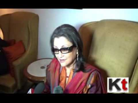 Director Aparna Sen briefing on her coming film Arshinagar