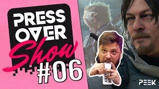 EVA 2019, Tokyo Game Show y Microtransacciones 🎮 | PRESS OVER SHOW #06 | Programa Completo