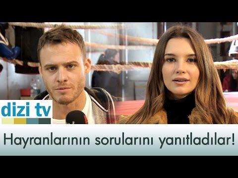 Kerem Bürsin ve Leyla Lydia Tuğutlu hayranlarının sorularını yanıtlıyor!  Dizi Tv 546. Bölüm  atv