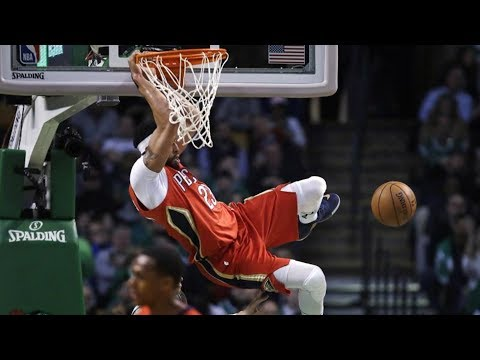 Anthony Davis 45 Points vs Celtics! RIP Jo Jo White, Pelicans vs Celtics 2017-18 Season