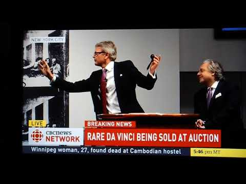 Christie's auction _ Leonardo da Vinci's 'Salvator Mundi' 20171115 救世主