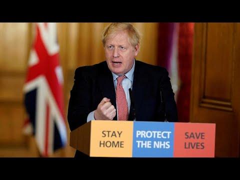 Covid-19: Boris Johnson admis en soins intensifs, les messages de soutien se multiplient