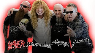 Dave Mustaine: I'm ANGRY With Metallica's Disrespect Towards Slayer, Megadeth & Anthrax! (Big Four)