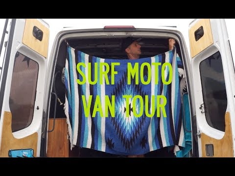 Socal Supermoto Moto Surf Van Tour!