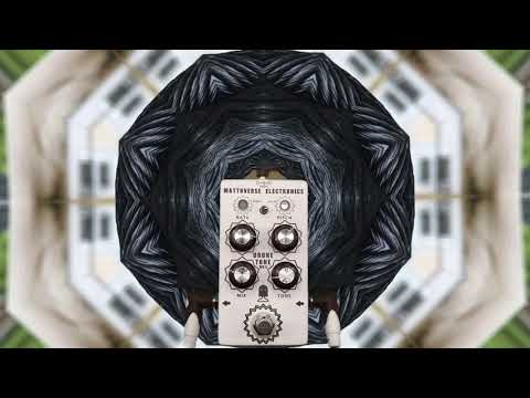 Mattoverse Electronics Drone Tone MKII (White Texture) Demo - Part 1