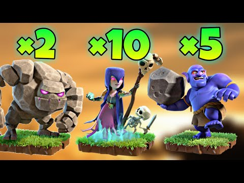 TH9 GoWiBo (Golem + Witch + Bowler) War Attack Strategy | Part 2 | Clash of Clans