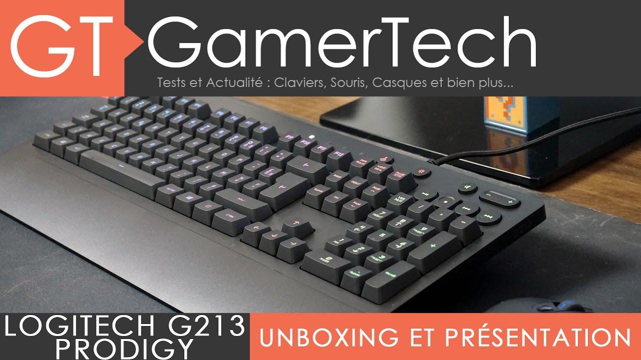 Logitech G213 Prodigy Unboxing Test Fr Un Clavier Gamer Keyboard Usb Votre Pas Vraiment Youtube