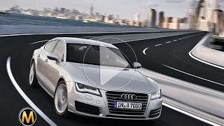 2014 Audi A7 review -  تجربة اودي ايه 7 - Dubai UAE Car Review by Motopedia.ae