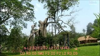 [Tiếng Hát Giữa Rừng Pác Pó ] Karaoke Beat Cảm Âm Sáo C5 - Bản Beat Hùng Tráng Hay Nhất