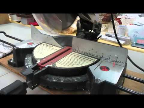 """Pro-Tech"" 10'' Miter Saw @ gronlineauction.com (49525)"