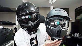 Ski Helmet - Unboxing: Ruroc RG1-DX Onyx + Yes for Glasses (Snowboard Helmet Review)