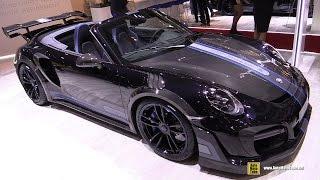 2017 Porsche 911 Turbo S Cabrio TechArt GT Street R - Walkaround - 2017 Geneva Motor Show