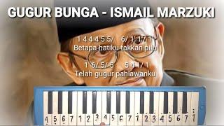 NOT PIANIKA I GUGUR BUNGA - ISMAIL MARZUKI (Tribute To BJ Habibie Wafat)