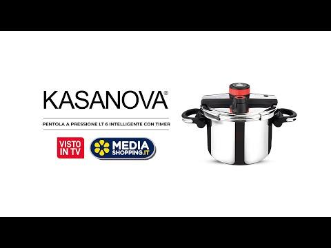 Pentola a pressione Kasanova 6 litri con timer - S...
