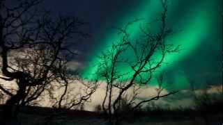 Amazing view! Northern Lights (Aurora Borealis) in the Arctic