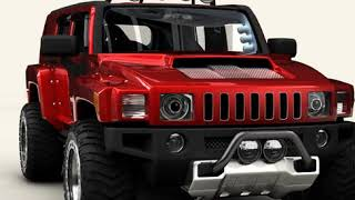 3D Model of Hummer H3R Review