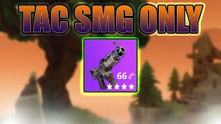 Tactical SMG Only challenge / TAC OP