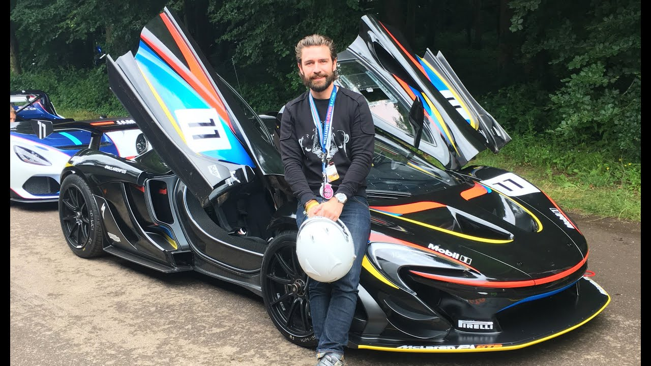 Taking You In A McLaren P1 GTR