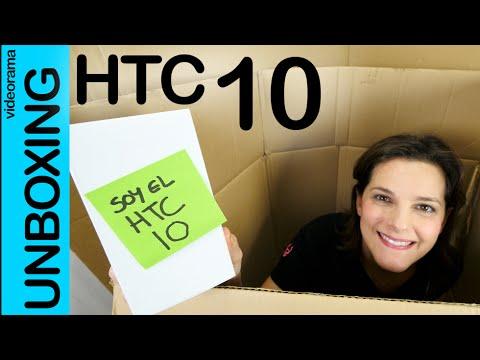 HTC 10 unboxing en español   4K UHD