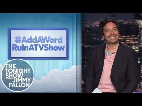 Hashtags:#AddAWordRuinATVShow