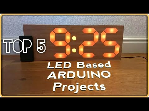 Top 5 LED Based LED Based Arduino Projects In 2018