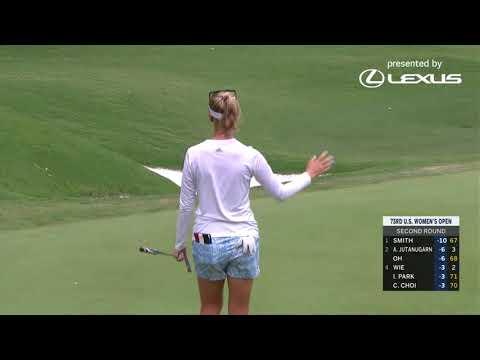 2018 U.S. Women's Open: Round 2 Highlights