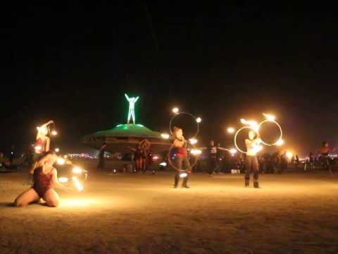 Ministry of Flow Fire Collective @ Burning Man 2013 Conclave