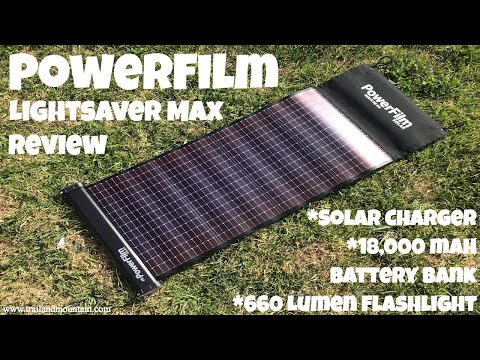powerfilm-lightsaver-max-solar-charger-&-battery-bank-review