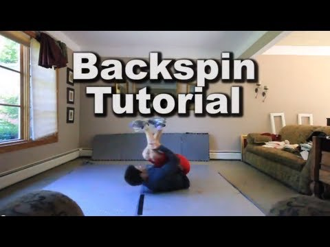 How To Breakdance | For Beginners | Backspin Tutorial