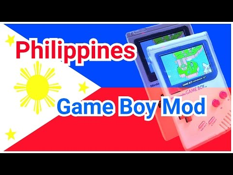 Game Boy Mods and Philippines Vacation Pick Ups